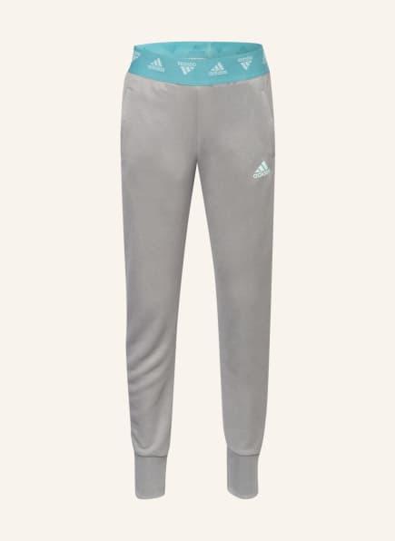 adidas Fitnesshose UP2MV, Farbe: HELLGRAU (Bild 1)