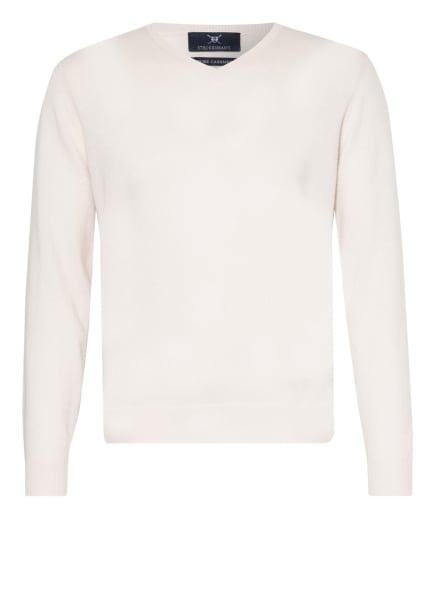 STROKESMAN'S Cashmere-Pullover, Farbe: ECRU/ CREME (Bild 1)