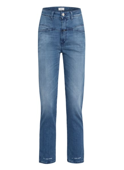 CLOSED Straight Jeans PEDAL PUSHER , Farbe: MBL MID BLUE (Bild 1)