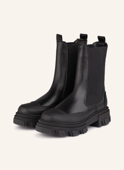 GANNI Chelsea-Boots, Farbe: SCHWARZ (Bild 1)