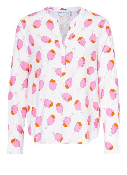 herzensangelegenheit Blusenshirt aus Seide , Farbe: WEISS (Bild 1)