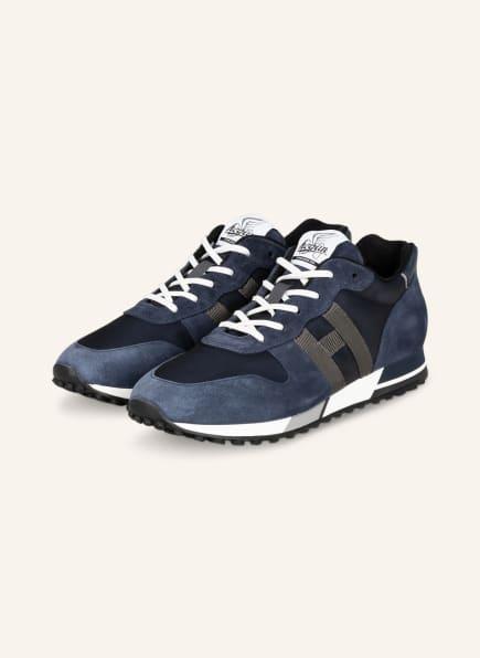 HOGAN Sneaker H383, Farbe: DUNKELBLAU (Bild 1)