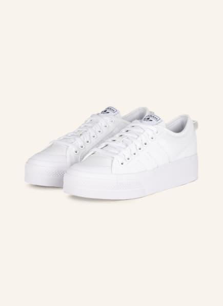 adidas Originals Plateau-Sneaker NIZZA PLATFORM, Farbe: ECRU (Bild 1)