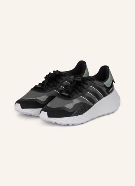 adidas Originals Plateau-Sneaker CHOIGO, Farbe: SCHWARZ/ GRAU/ WEISS (Bild 1)