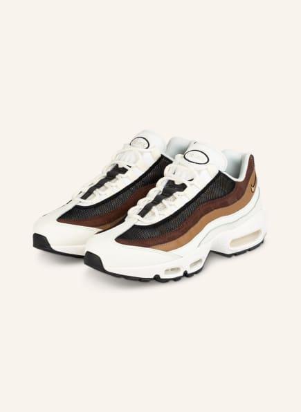 Nike Sneaker AIR MAX 95, Farbe: ECRU/ BRAUN/ SCHWARZ (Bild 1)