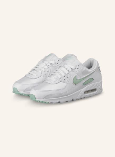 Nike Sneaker AIR MAX 90 , Farbe: WEISS/ MINT (Bild 1)