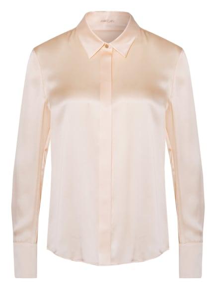 MARC CAIN Hemdbluse aus Seide, Farbe: HELLORANGE (Bild 1)