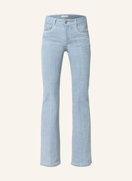 Chloé Flared Jeans, Farbe: 468 Grizzled Blue (Bild 1)