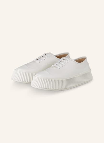 JIL SANDER Plateau-Sneaker , Farbe: WEISS (Bild 1)