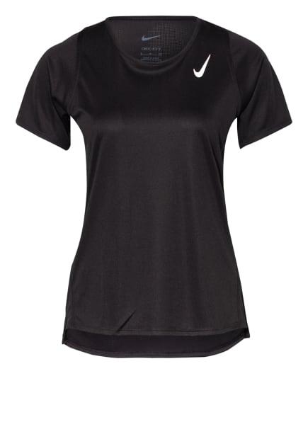 Nike Laufshirt DRI-FIT RACE, Farbe: SCHWARZ (Bild 1)