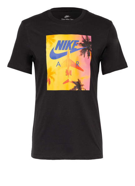 Nike T-Shirt SPORTSWEAR, Farbe: SCHWARZ/ BLAU/ GELB (Bild 1)