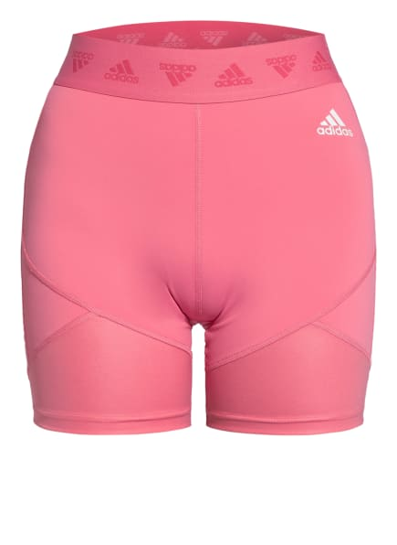 adidas Fitnessshorts , Farbe: HELLROT (Bild 1)
