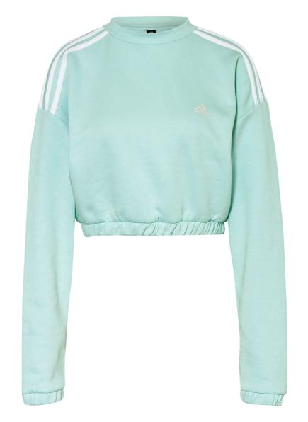 adidas Cropped-Sweathsirt CROP CREW, Farbe: MINT (Bild 1)