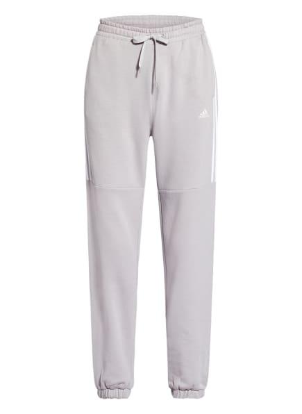 adidas Sweatpants HYPERGLAM, Farbe: HELLGRAU (Bild 1)