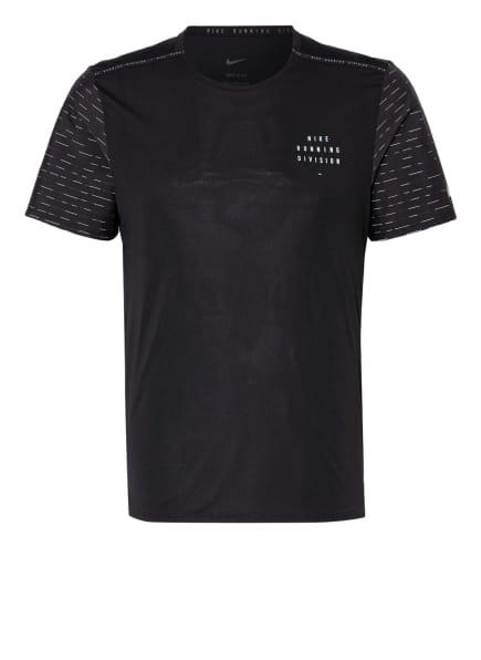 Nike T-Shirt im Materialmix, Farbe: SCHWARZ (Bild 1)