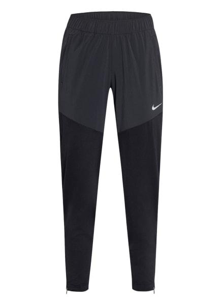 Nike Laufhose ESSENTIAL, Farbe: SCHWARZ/ DUNKELGRAU (Bild 1)