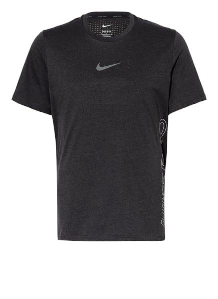 Nike T-Shirt PRO DRI-FIT BURNOUT, Farbe: SCHWARZ/ GRAU (Bild 1)