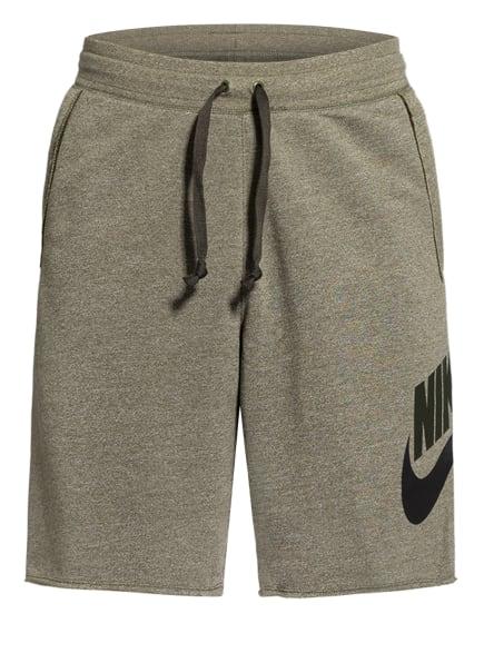 Nike Sweatshorts, Farbe: GRÜN (Bild 1)