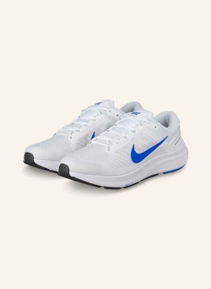 Nike Laufschuhe AIR ZOOM STRUCTURE 24, Farbe: WEISS/ BLAU (Bild 1)