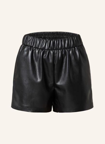 ANINE BING Shorts SOFIA in Lederoptik, Farbe: SCHWARZ (Bild 1)