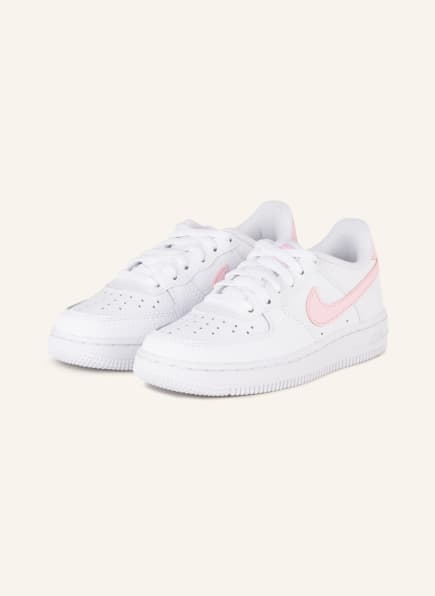 Nike Sneaker AIR FORCE 1, Farbe: WEISS/ ROSA (Bild 1)