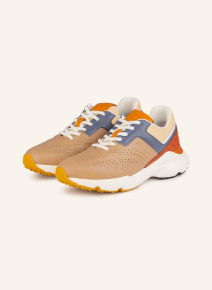 TOD'S Plateau-Sneaker SPORTIVO RUN 54, Farbe: HELLBRAUN/ GRAU/ BRAUN (Bild 1)