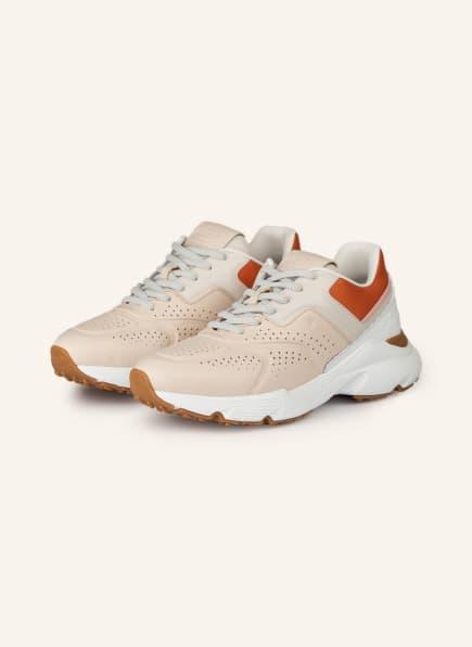 TOD'S Plateau-Sneaker, Farbe: NUDE/ ORANGE/ WEISS (Bild 1)