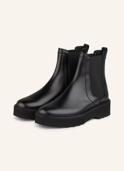 TOD'S Chelsea-Boots, Farbe: SCHWARZ (Bild 1)
