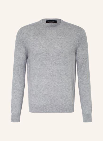 Ermenegildo Zegna Cashmere-Pullover , Farbe: HELLGRAU (Bild 1)