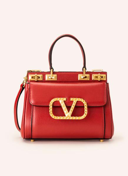VALENTINO GARAVANI Handtasche V-LOGO ROCKSTUD, Farbe: JU5 ROUGE PUR (Bild 1)