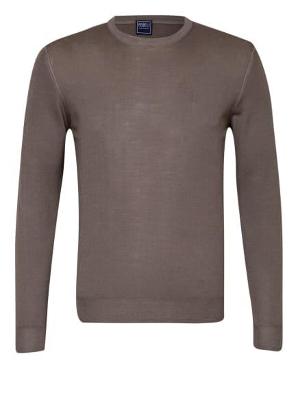 FEDELI Pullover, Farbe: TAUPE (Bild 1)