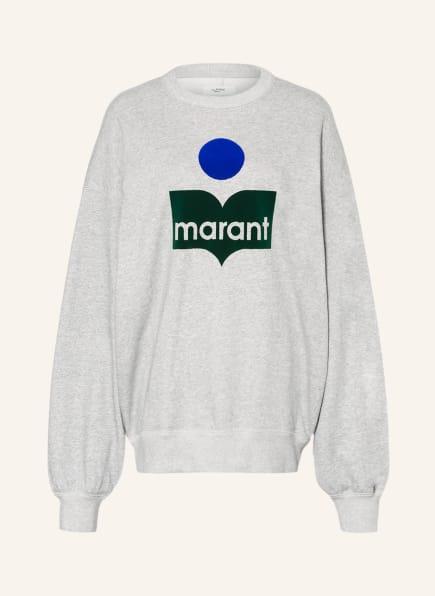 ISABEL MARANT ÉTOILE Oversized-Sweatshirt MINDY, Farbe: HELLGRAU (Bild 1)