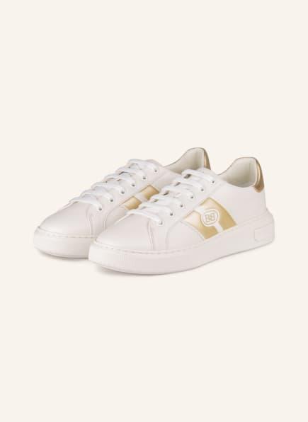 BALLY Sneaker MIKKI , Farbe: WEISS/ GOLD (Bild 1)