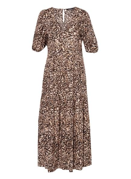 SET Kleid, Farbe: SCHWARZ/ WEISS/ HELLBRAUN (Bild 1)