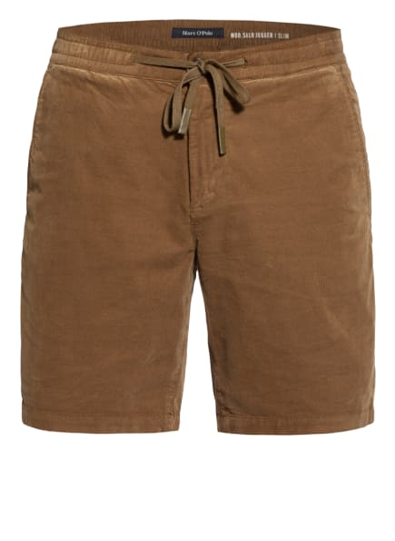 Marc O'Polo Cord-Shorts SALO Slim Fit, Farbe: BRAUN (Bild 1)