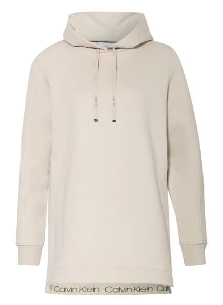 Calvin Klein Hoodie mit Galonstreifen, Farbe: CREME (Bild 1)