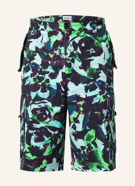 KENZO Shorts , Farbe: DUNKELBLAU/ HELLGRÜN/ DUNKELROT (Bild 1)