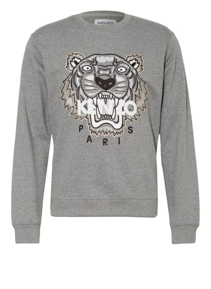 KENZO Sweatshirt TIGER, Farbe: 95 DOVE GREY (Bild 1)