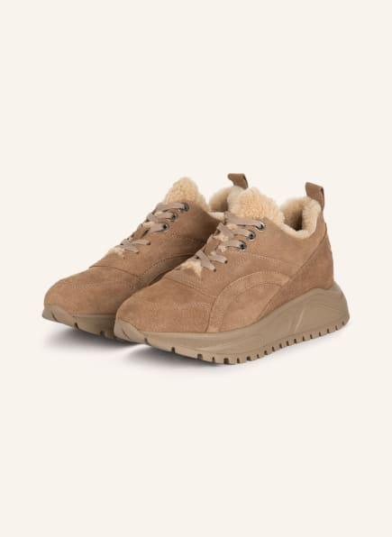 BOGNER Plateau-Sneaker NEW MALAGA, Farbe: COGNAC (Bild 1)