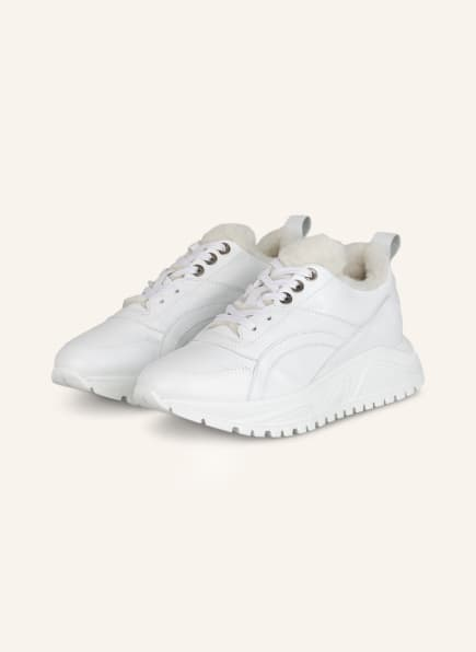 BOGNER Plateau-Sneaker NEW MALAGA , Farbe: WEISS (Bild 1)