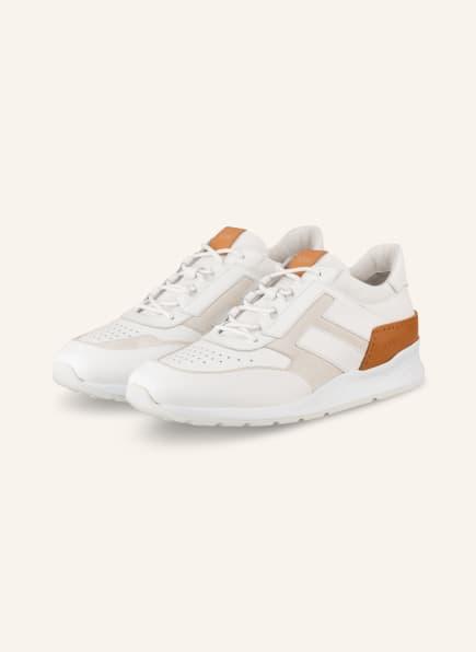 TOD'S Sneaker , Farbe: WEISS/ CREME/ COGNAC (Bild 1)