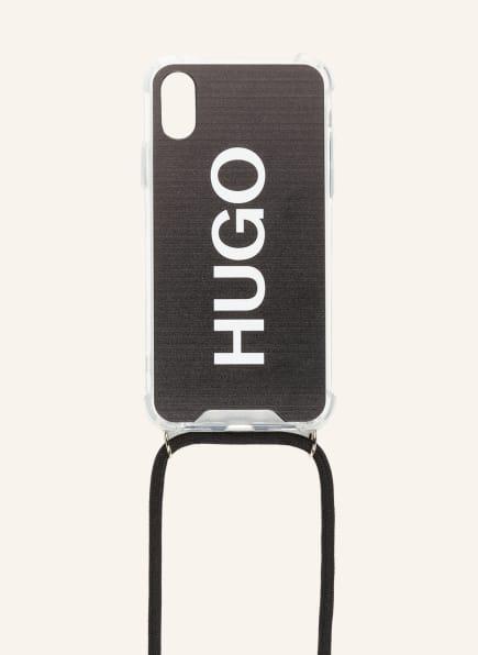 HUGO Smartphone-Hülle ZALI, Farbe: SCHWARZ (Bild 1)