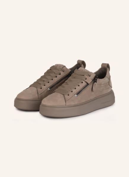 KENNEL & SCHMENGER Plateau-Sneaker PRO, Farbe: TAUPE (Bild 1)