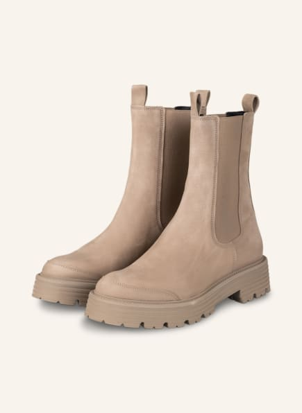 KENNEL & SCHMENGER Chelsea-Boots POWER, Farbe: TAUPE (Bild 1)