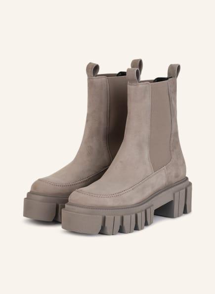 KENNEL & SCHMENGER Plateau-Boots ROCK, Farbe: TAUPE (Bild 1)