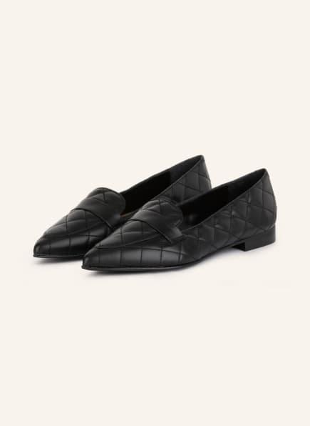 Flattered Loafer ALEXANDRA, Farbe: SCHWARZ (Bild 1)