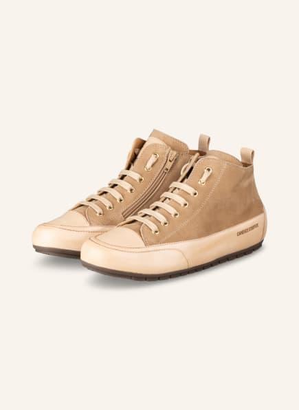 Candice Cooper Hightop-Sneaker, Farbe: BEIGE (Bild 1)