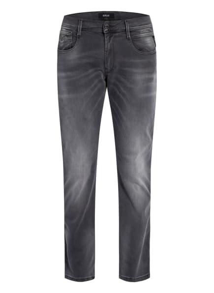 REPLAY Jeans ANBASS HYPERFLEX RE-USED Slim Fit, Farbe: 096 MEDIUM GREY (Bild 1)
