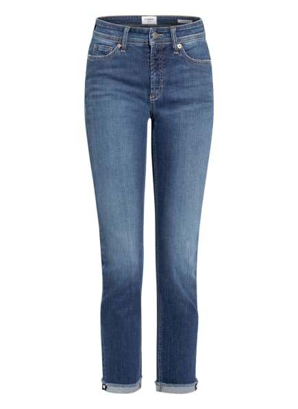 CAMBIO 7/8-Jeans PIPER, Farbe: 5024 sophisticated dark used fringed (Bild 1)