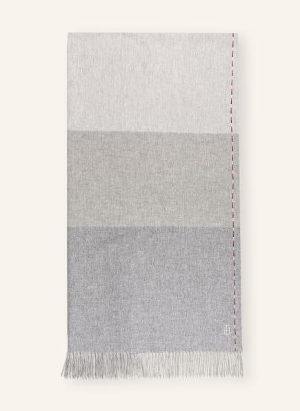 TOMMY HILFIGER Schal, Farbe: HELLGRAU/ CREME (Bild 1)